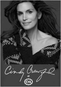 Supermodel Cindy Crawford