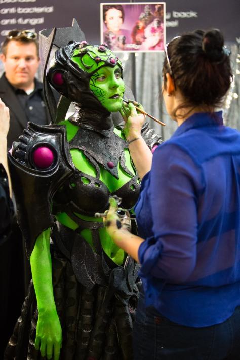 green girl