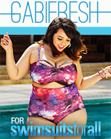 Plus size swim line