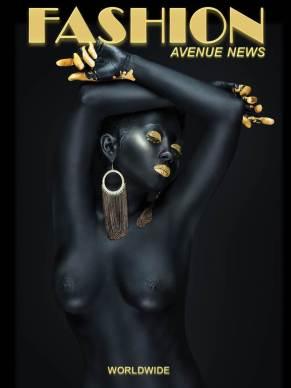 FAN COVER BLK GOLD