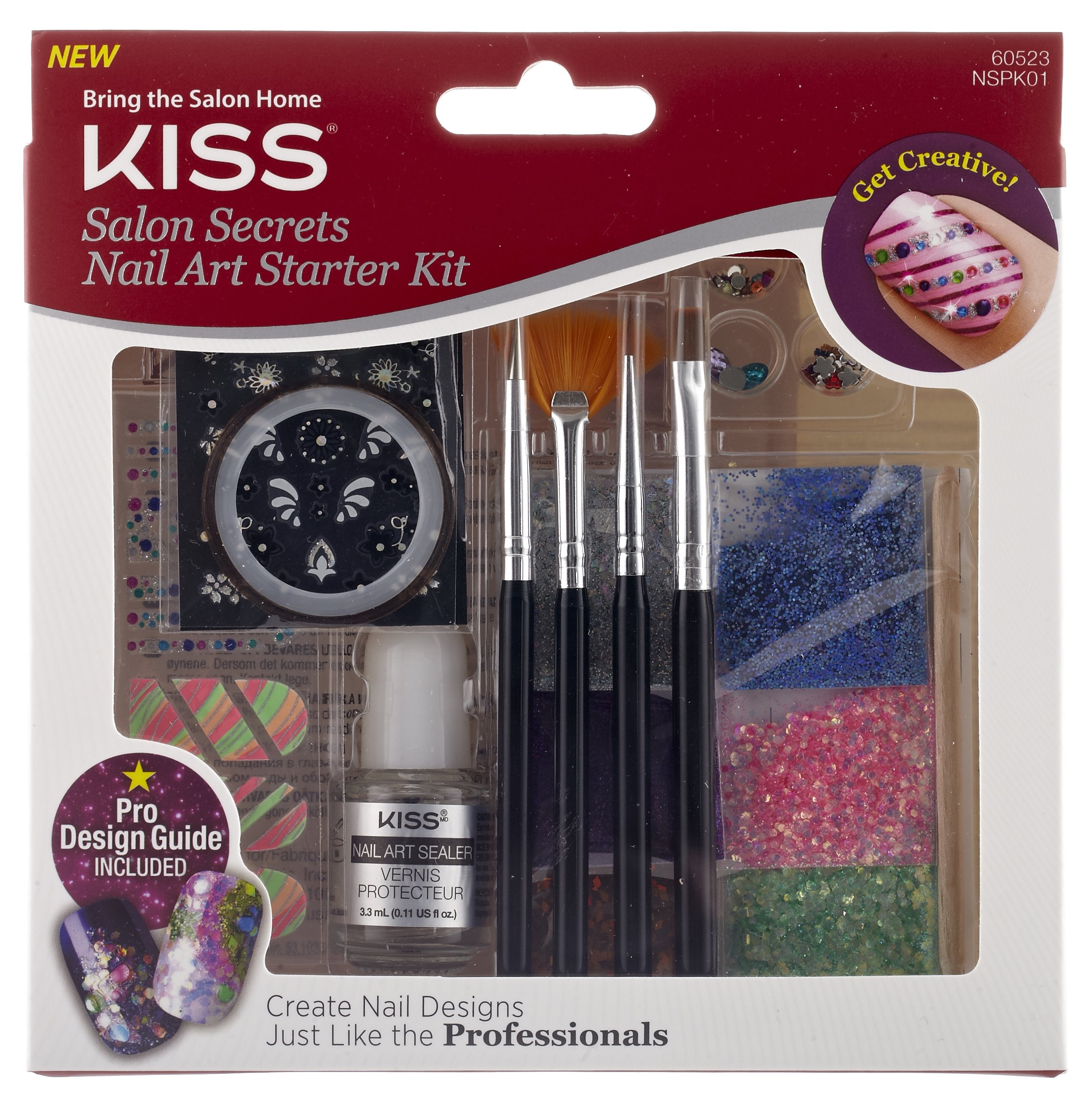 Kiss Salon Secrets Nail Art Pro Tool Kit Nsat01: KISS – Nail Products & Eye Lashes