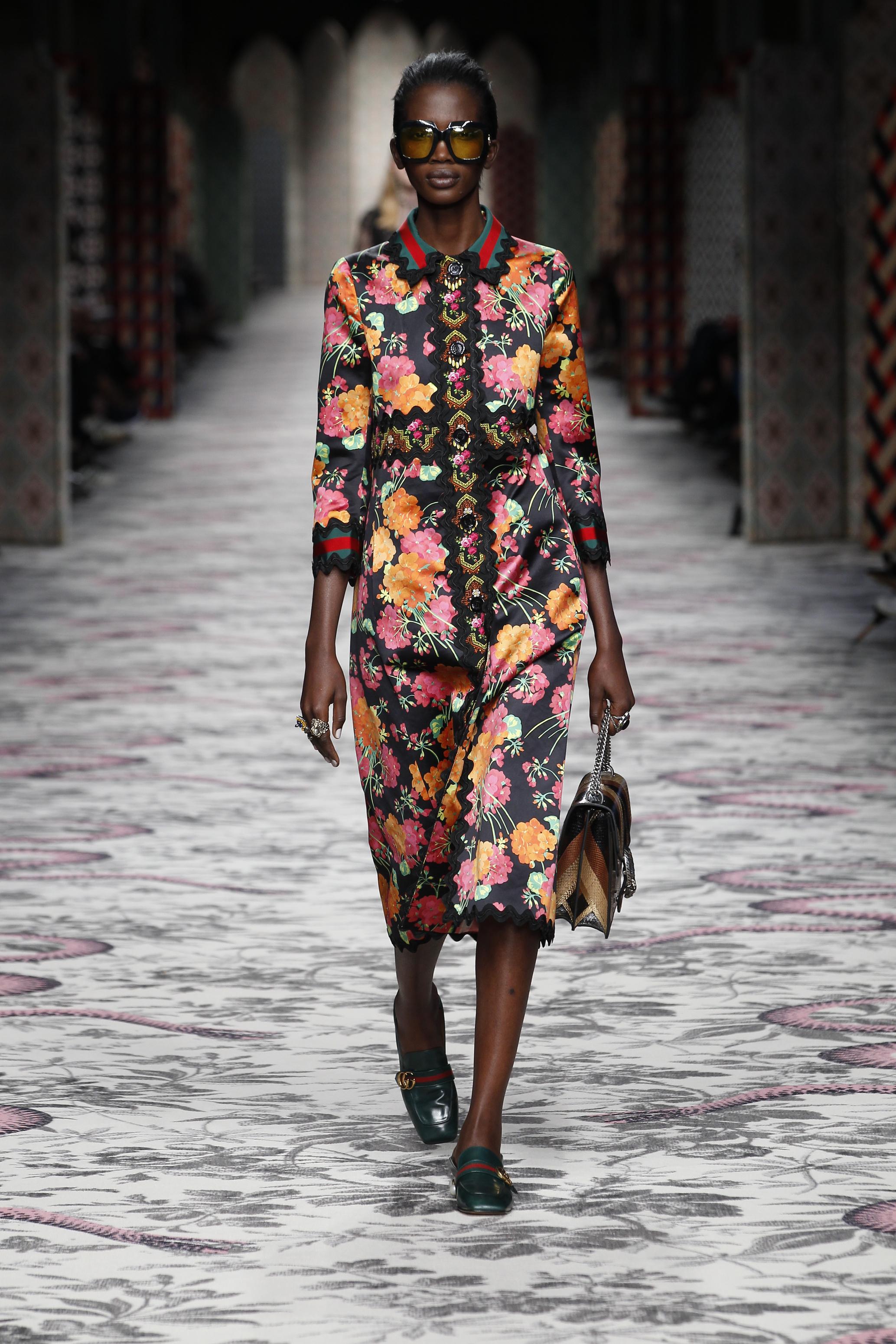 Milan fashion week spring summer 2016 gucci fashion for Gucci milan fashion week