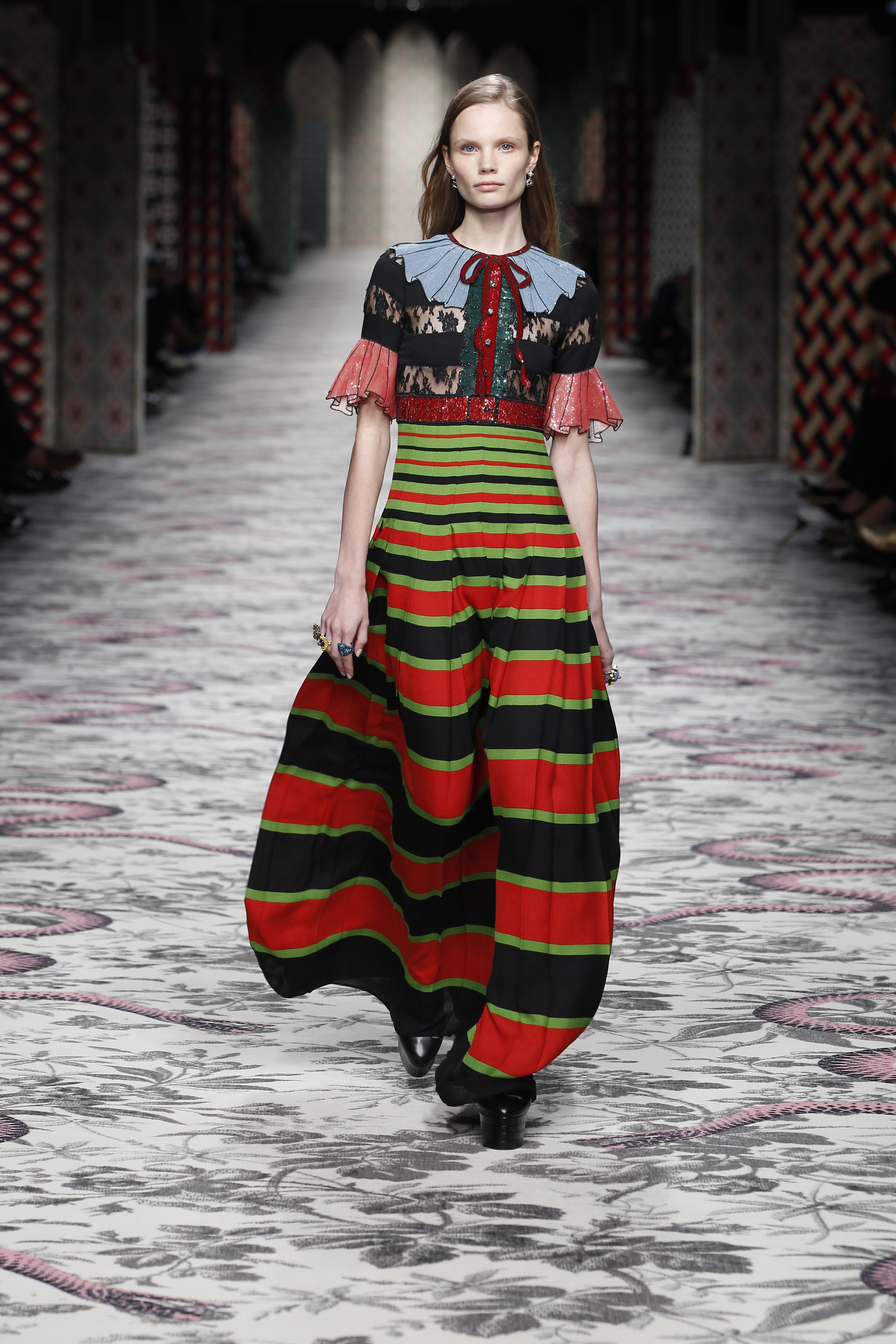 Milan Fashion Week Spring Summer 2016 Gucci Fashion