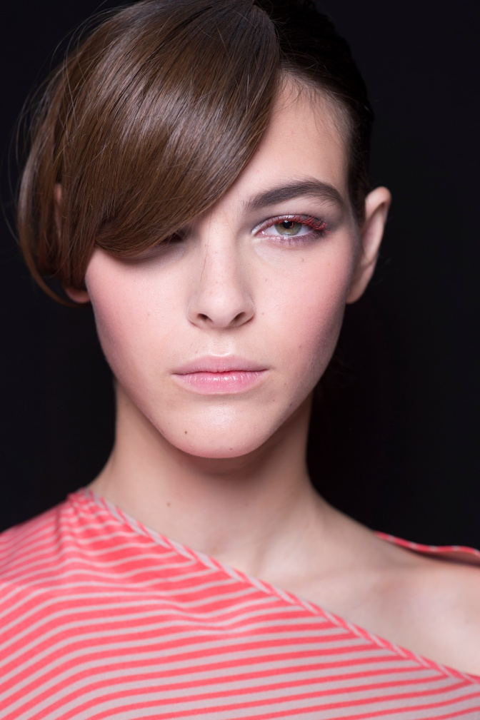 MILAN – THE BEAUTY LOOK BY LINDA CANTELLO, INTERNATIONAL MAKE-UP ARTIST GIORGIO ARMANI