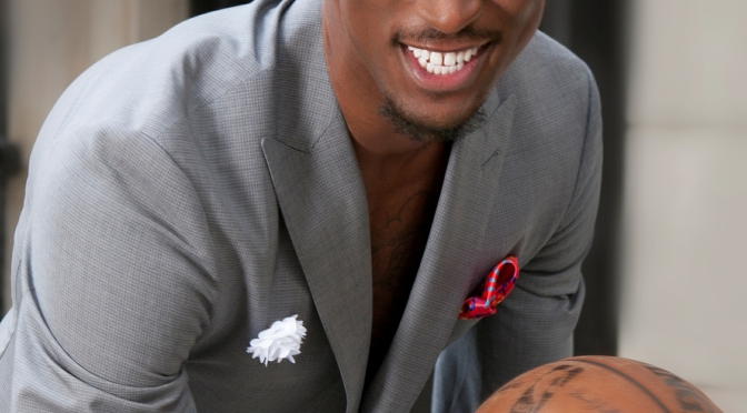 MODEL WORLD MAGAZINE COVER MODEL IS NBA BKLYN NETS PLAYER, RONDAE HOLLIS JEFFERSON