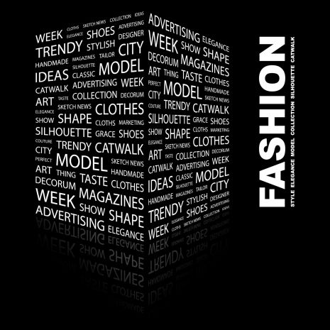 Fashion Word Cube