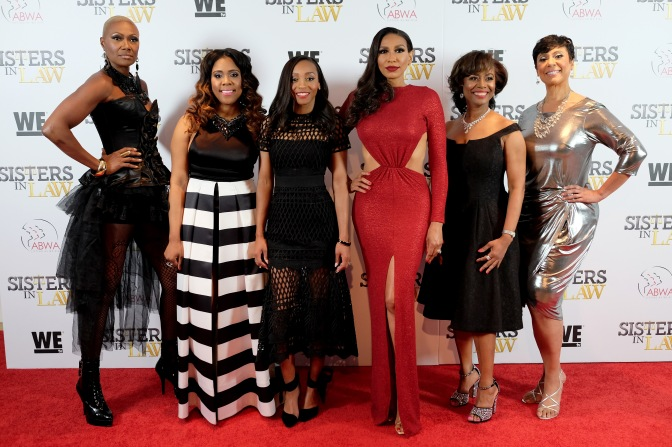 "NY premiere of WE tv's ""Sisters In Law"""