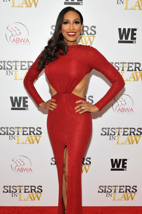 """NEW YORK, NEW YORK - MARCH 23: Rhonda Hunter attends as WE tv hosts exclusive premiere screening for new series ""Sisters in Law"" on March 23, 2016 in New York City. (Photo by D Dipasupil/Getty Images for WE tv)"""