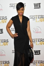 """NEW YORK, NEW YORK - MARCH 23: Jacque Reid attends as WE tv hosts exclusive premiere screening for new series ""Sisters in Law"" on March 23, 2016 in New York City. (Photo by D Dipasupil/Getty Images for WE tv)"""