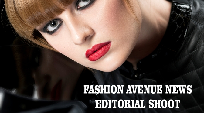FASHION AVENUE NEWS  EDITORIAL SHOOT  WITH  Germany's next Topmodel