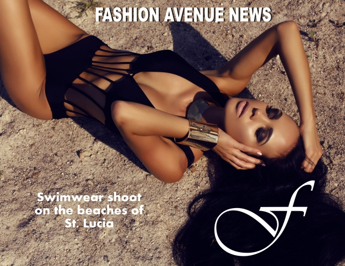 ST. LUCIA HOT COUTURE SHOW- FAN SHOOTS SWIMWEAR COVER