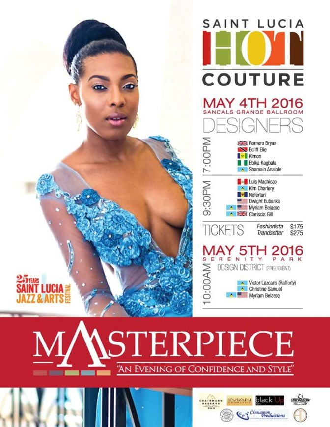 ST. LUCIA HOT COUTURE FEATURES DESIGNER CLARISCIA GILL – CG COUTURE