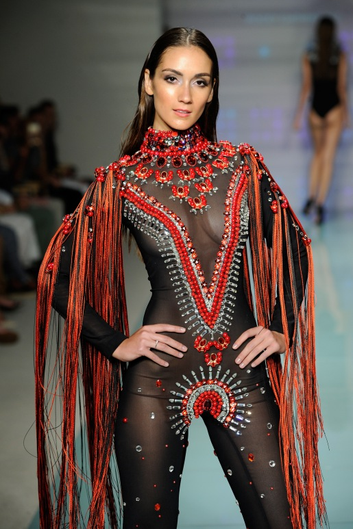Rocky Gathercole At Art Hearts Fashion Miami Swim Week Presented by AIDS Healthcare Foundation